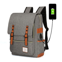 Wasserdichter USB-Arbeitsweg-Rucksack-intelligenter Laptop-Rucksack-Beutel mit Aufladeeinheit