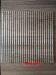 gevormd/Gerold/Voorgesteld 4mm Glas (Kasumi; Rijk; Vlecht; Millennium; Bel; Water; Garoque)