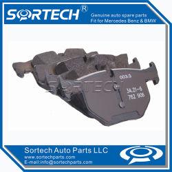 Les pièces automobiles jeu de plaquettes de frein arrière pour BMW E60 E61 34216763044