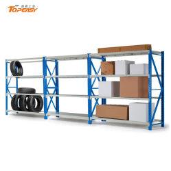 4 Уровень Boltless металлический стеллаж для установки в стойку для хранения системы складских стеллажей гаража