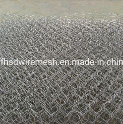 O PVC revestido ou galvanizada Gabião Caixa para parede de retenção