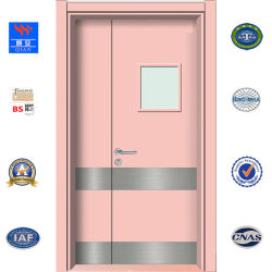 Водонепроницаемый Внутренних Дел ламината HPL ДВЕРИ HDF школы деревянной дверью (HD-ТА-01)