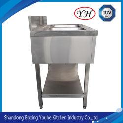 商業レストランの深い台所の流しか棒流しまたは台所の流しのステンレス鋼