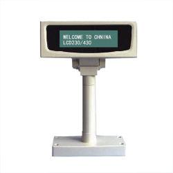 Justierbare Abnehmer-Bildschirmanzeige USB-Positions-Pole LCD