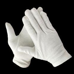 S, M, L, XXL Größen-weiche Baumwollmünzen-Schmucksache-Silber-Inspektion-Stretchable Futter-Handschuhe