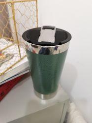 16oz isolés Tumber vide Stanley tasse à café avec de nouvelles Ouvrir le bouchon de la bière Mug garder au chaud ou froid plus de 12 heures