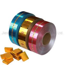 Papier d'aluminium de contrecollage Chocolat/Soup Cube/beurre du papier d'emballage alimentaire de l'enrubanneuse