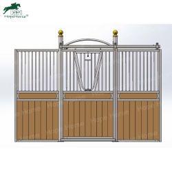Anti cheval de conception de pilier de panneau avant avec porte coulissante