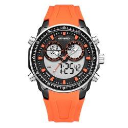 Custの人の腕時計の時計バンドのスポーツの腕時計のためのギフトのファッション・ウォッチが付いているギフトの腕時計のための水晶腕時計のWthのシリコーンの腕時計が付いているギフトの腕時計のための腕時計