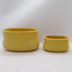 Logo personnalisé moderne décoration de mariage Home Decor Succulent Pots en céramique