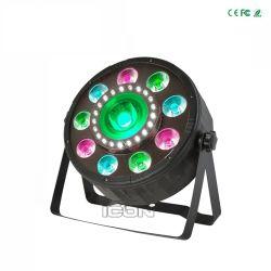 Illuminazione di plastica di effetto della discoteca del partito di PARITÀ della PANNOCCHIA LED