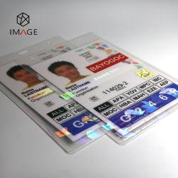 Personalizar o Pet+Bolsa de revestimento com holograma EVA de filme para um cartão de identificação