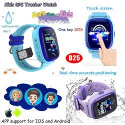 IP67 as crianças à prova de Rastreamento por GPS Device com slot para cartão SIM D25