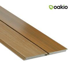 Comercio al por mayor 3D compuesto de plástico madera Paneles de pared exterior de fachada de WPC