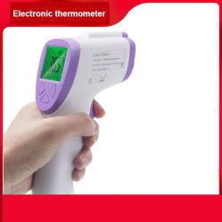 Termómetro digital fronte não entre em contato com o corpo do bebê Eletrônico Electronic Termómetro de infravermelhos via electrónica