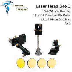 Laser-Kopf gesetztes C für CO2 Laser-Maschine