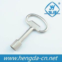 De professionele Sleutel van het Slot van de Driehoek van de Legering van het Zink voor het Industriële Slot van de Driehoek (YH1106)