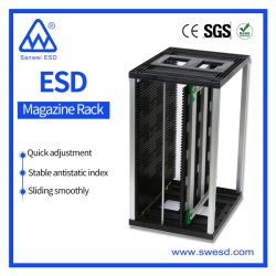 3W-9805301b2-2 embase CMS Magazine Rack antistatique pour le stockage Cartes PCB