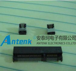 MiniPCI Express-Kontaktbuchse und Verriegelung