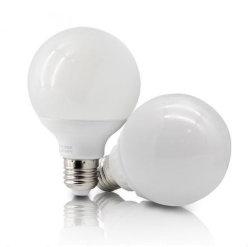 Китай новые светодиодные лампы ГЛОБ E14 E27 B22, G60, G80, G95, G120 5W 7W 9W 12Вт для использования внутри помещений энергосберегающие лампы освещения