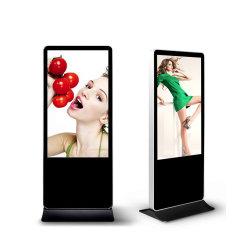 شاشة عرض Totem التجارية LED شاشة عرض تفاعلية، الكشك الرقمي الداخلي تلفزيون إعلان LCD عمودي