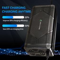 Европейский стандарт 36 В, 48 В, 60 В, 72 V LiFePO4 зарядное устройство