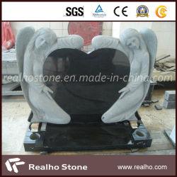 De fabriek Vervaardigde Grafsteen van het Standbeeld van de Engel van het Graniet