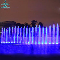 Heiße Verkaufs-Produkt-im Freien dekorativer schöner musikalischer Tanzen-Wasser-Brunnen