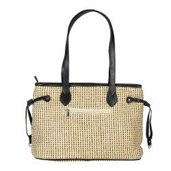 Дамы сумочку High-Quality ткань соломы дамской сумочке горячая продажа сумки через плечо леди PU Bag простых женщин женская сумка леди тканого Crossbody мешок