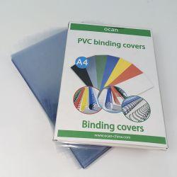 غطاء ربط مقاس A4 بمعدل 170 ميكرون ورقة بلاستيكية نقية من مادة PVC