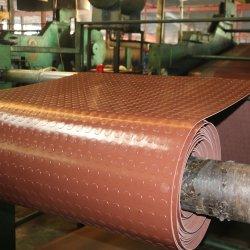 Antibeleg-Münzen-Weide verlässt Muster Kurbelgehäuse-Belüftung Gummimatte für Garage-Werkstatt-Fußboden-Matte