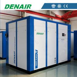 0.5 ~ 500 M3/Min 2 ~ 40 Bar 産業用省エネ電動式固定式直接型 エアドライヤおよびタンク付きの従動 / 連結回転スクリューエアコンプレッサ ( ISO および CE )
