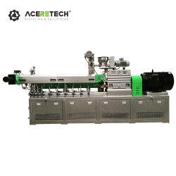 Двойной Шнек Экструдер Оборудование для Изготовления Цветных Суперконцентратов Полиэтиленовых Мастербатчей