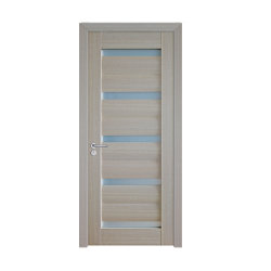 2020 Nouveau modèle de porte intérieure +MDF PVC pour salle de bains avec verre/porte de la conception en bois