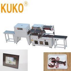 판지 나무 상자를 위한 포장 포장지 기계를 감싸는 완전히 자동적인 플라스틱 PE POF PVC 필름 밀봉 봉인자 수축 줄어들기 쉬운 패킹 포장 팩