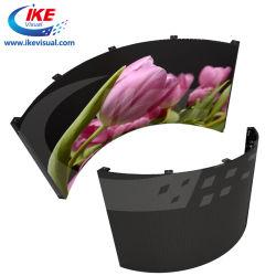 Для использования внутри помещений для использования вне помещений LED шторки для изогнутая форма кривой дисплей со светодиодной подсветкой