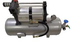 핫 세일 모델: 4AB02-B-40L 고압 2:1 비율 압축 공기 부스터 펌프(몰딩 사출용 40L 탱크 포함