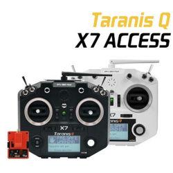 جهاز إرسال Frsky Taranis Q X7 بسرعة 2.4 جيجاهرتز وبتردد 24 CH MODE2 مع R9m