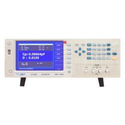20Hz~500kHz コンポーネント・アナライザ抵抗計、高精度 LCR メータ(モデル CKT500 )