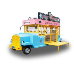 미국 표준 허용 다기능 미니 푸드 트럭 이동식 푸드 트레일러 이동식 주방 판매