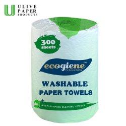 Absorventes lavável 300 folhas de papel de cozinha Toalha