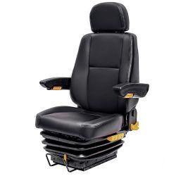 Housse en cuir siège conducteur de bus de la suspension pneumatique
