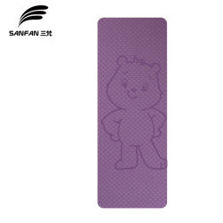 Stuoia all'ingrosso di yoga del TPE della fabbrica - immagine di disegno