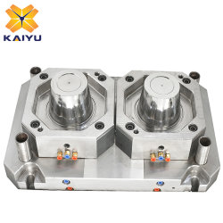 2 Nahrungsmittelwannen-Form-Eiscreme-Speicher-Wannen-Spritzen der Kammer-2L