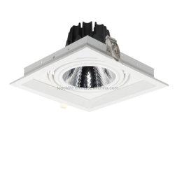 10W/15W/20W свет под углом 15 град./24град Adjustble для использования внутри помещений LED фонаря направленного света на решетке для супермаркетов, Домашнее освещение