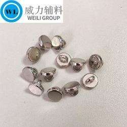 Custom Made Fashion 8mm Schaft Metall Shirt Knopf für Kleidung