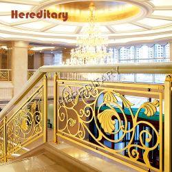 Piscina balaustrada de alumínio e de sistemas Baluster Escada para o átrio do Hotel Decoration