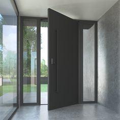 As portas de ferro Gladman Design Europeu Porta Pivô com total privacidade pessoal