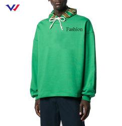 Logotipo personalizado invierno Mens Hoody Sudadera con capucha de gramaje extra de ropa gruesa Personalizado 100% Algodón Pullover Hoodie bordados