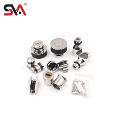 Sva-0016 нержавеющая сталь безрамные опускное стекло задней двери фитинги для ванной комнаты